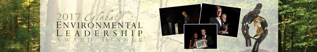 2017 Global Environmental Leadership Award banner