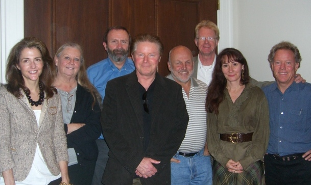 Left to right: Betsy Lack, Kathi Anderson; Tom Jones; Don Henley; John Tyson; Ed Begley, Jr., Anna West Winter, John DeVillars (photo by Neil Rasmussen, 2006)