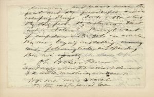 Thoreau holograph manuscript leaf from Walden (The Thoreau Collection of Kevin MacDonnell)