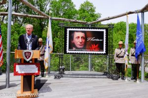 Thoreau Stamp event with Ed Begley, Jr.