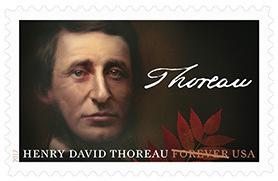 Thoreau Stamp