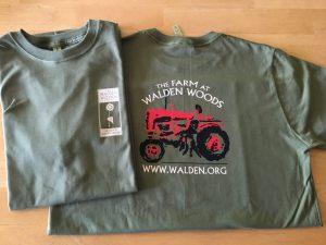 82e5de60 Farm at Walden Woods T-shirt- light olive green